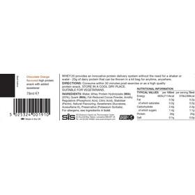 SiS Whey20 Protein Snack Box 12x78ml, Chocolate Orange